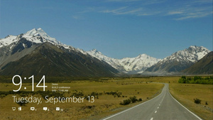 Lock Screen for Windows 8